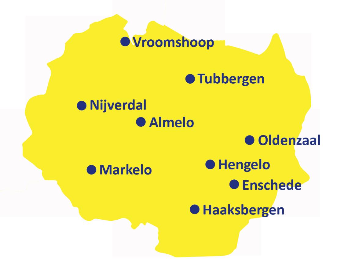 Regio Twente ambulanceposten