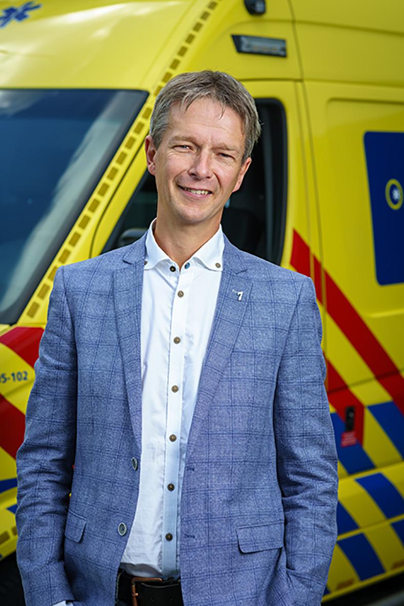 Johan Keijzer manager ambulancezorg